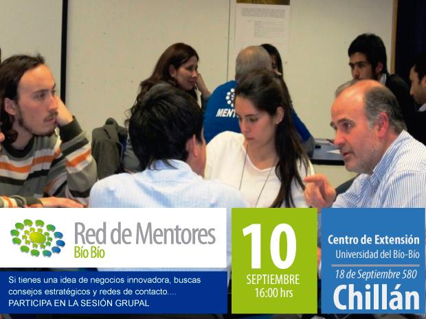 Sesión grupal Red de Mentores en Chillán
