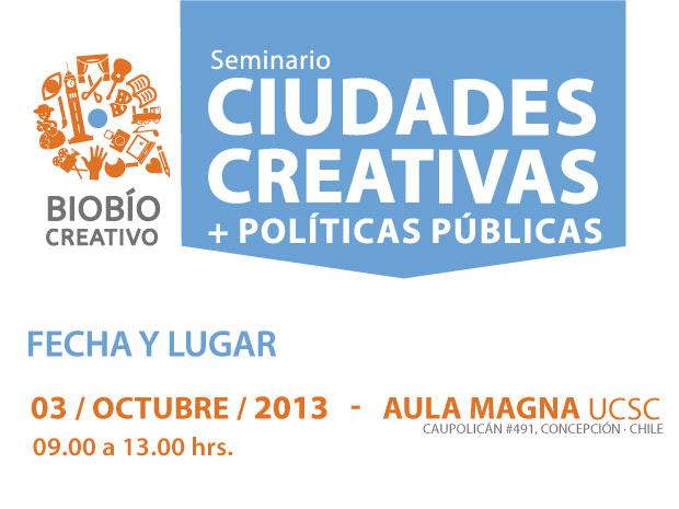 Seminario Ciudades Creativas + Políticas Públicas