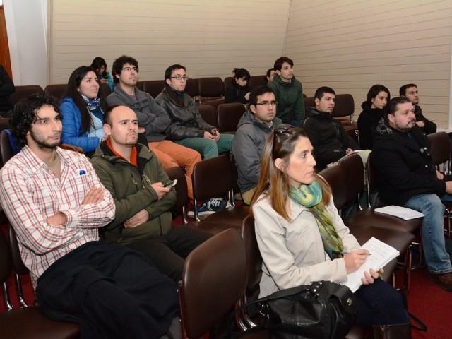 Coordinador Nacional de Fondef-VIU destacó la participación de los estudiantes de la UBB y los instó a seguir concursando