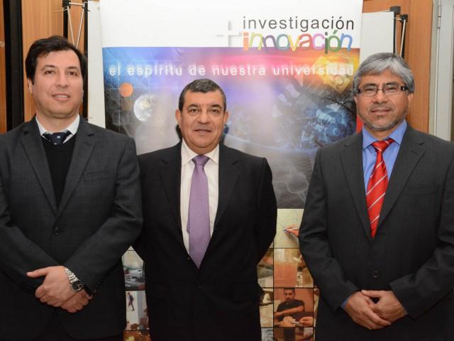 UBB lanzó tres proyectos FIA adjudicados para el período 2014- 2015