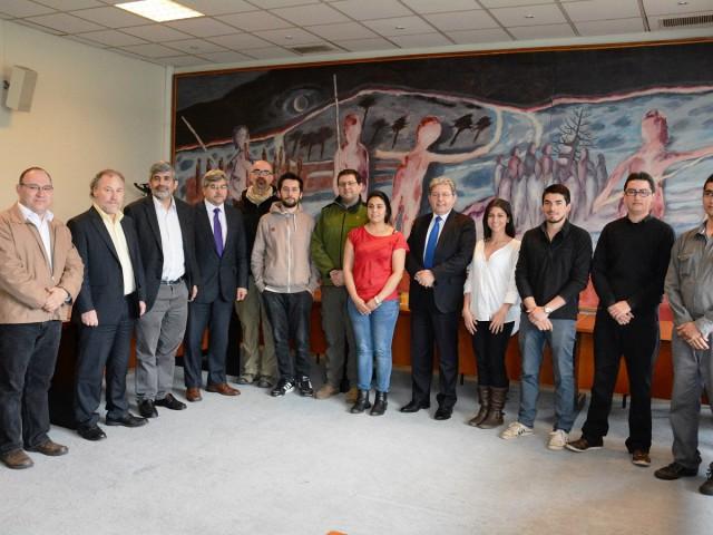 Rector renovó compromiso institucional con el desarrollo del emprendimiento innovador